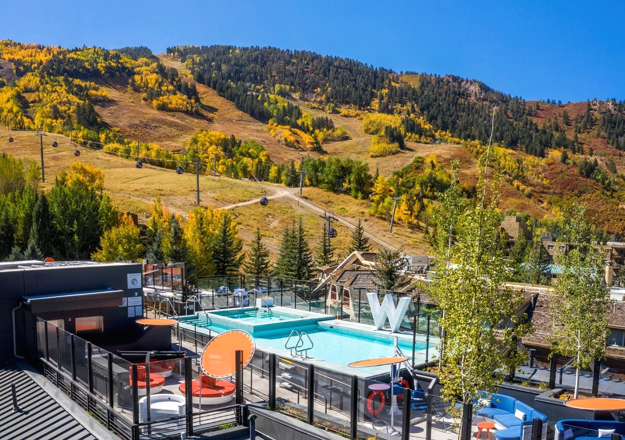 W Hotel Aspen Wet Deck, W HOTELS