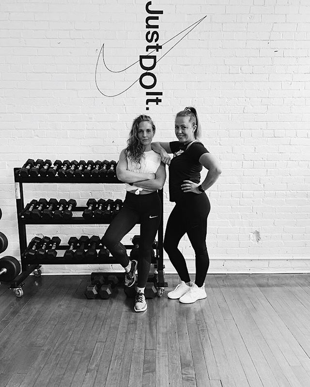 FIRST EVENT ENERGY⚡️ Join us for a sweaty workout led by Nike trainers @trainwbritt & @Gill_thethrillll on Sept 8. Scared? Don't be, it'll be fuelled by fun, community & connection.  Proceeds will go towards our goal of raising $10,000 for @skylarkyouth which will provide 100 hours of free counselling services to youth & children.  Grab your tickets in our bio 🔥