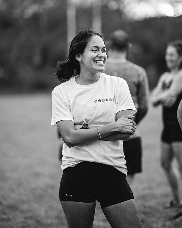 """The Beer Mile event was a small clip of the excitement leading up to the actual run, which is becoming bigger than us. I'm excited! Excited to not sleep and run lots. Type 2 fun is always fun"" - @la.kets [1 of 12 runners] . 📸 @jn.creative . . #escapetonewyork2019 #ultrarelay"