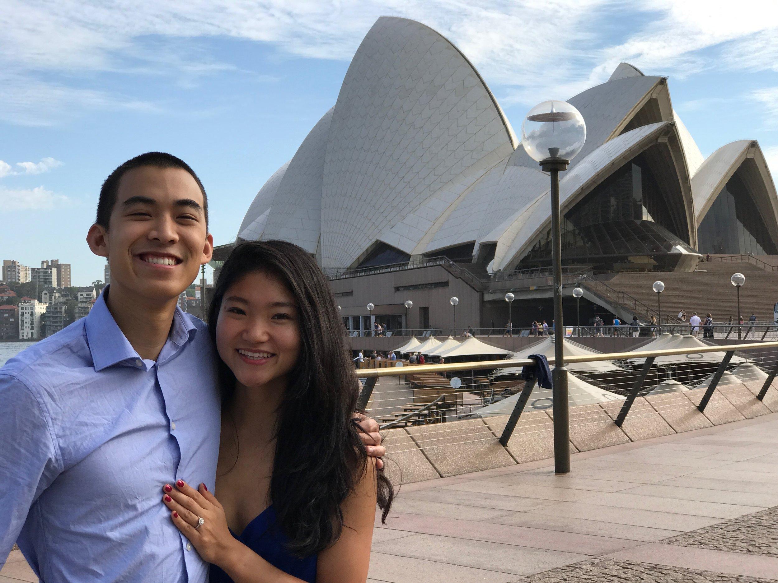 Engaged in Sydney, Australia - 2017