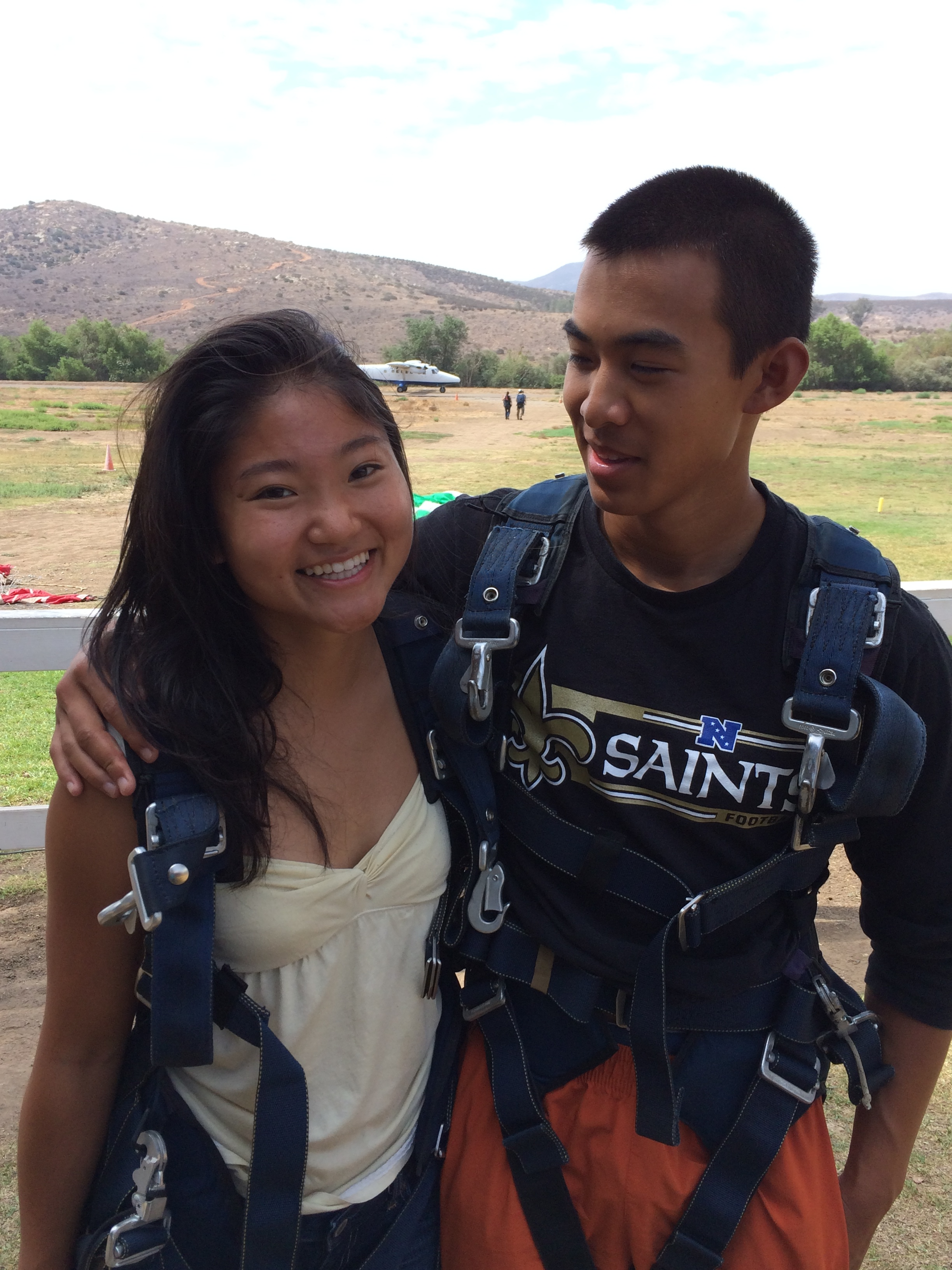 Skyjumping in San Diego - 2014
