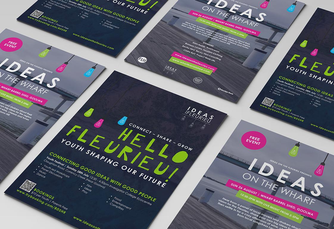 Ideas on the Fleurieu Poster Design