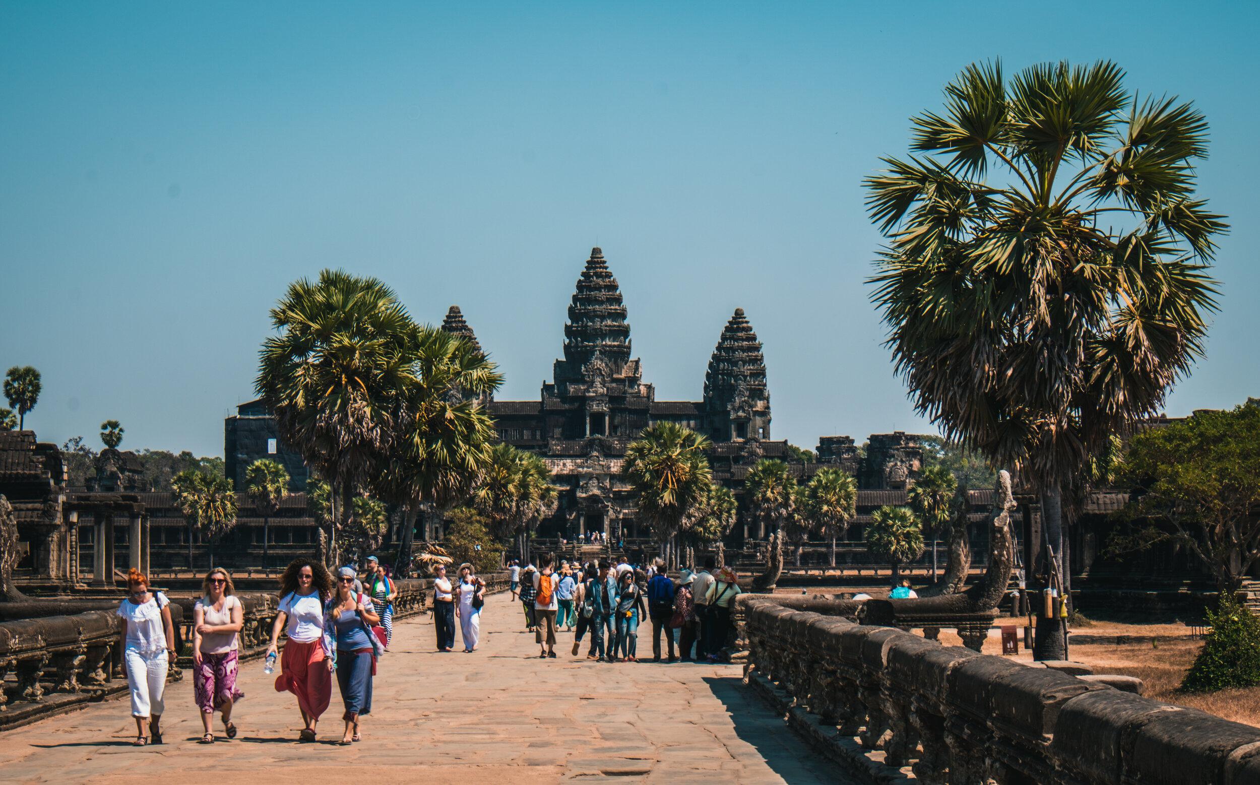 reality of visiting angkor wat