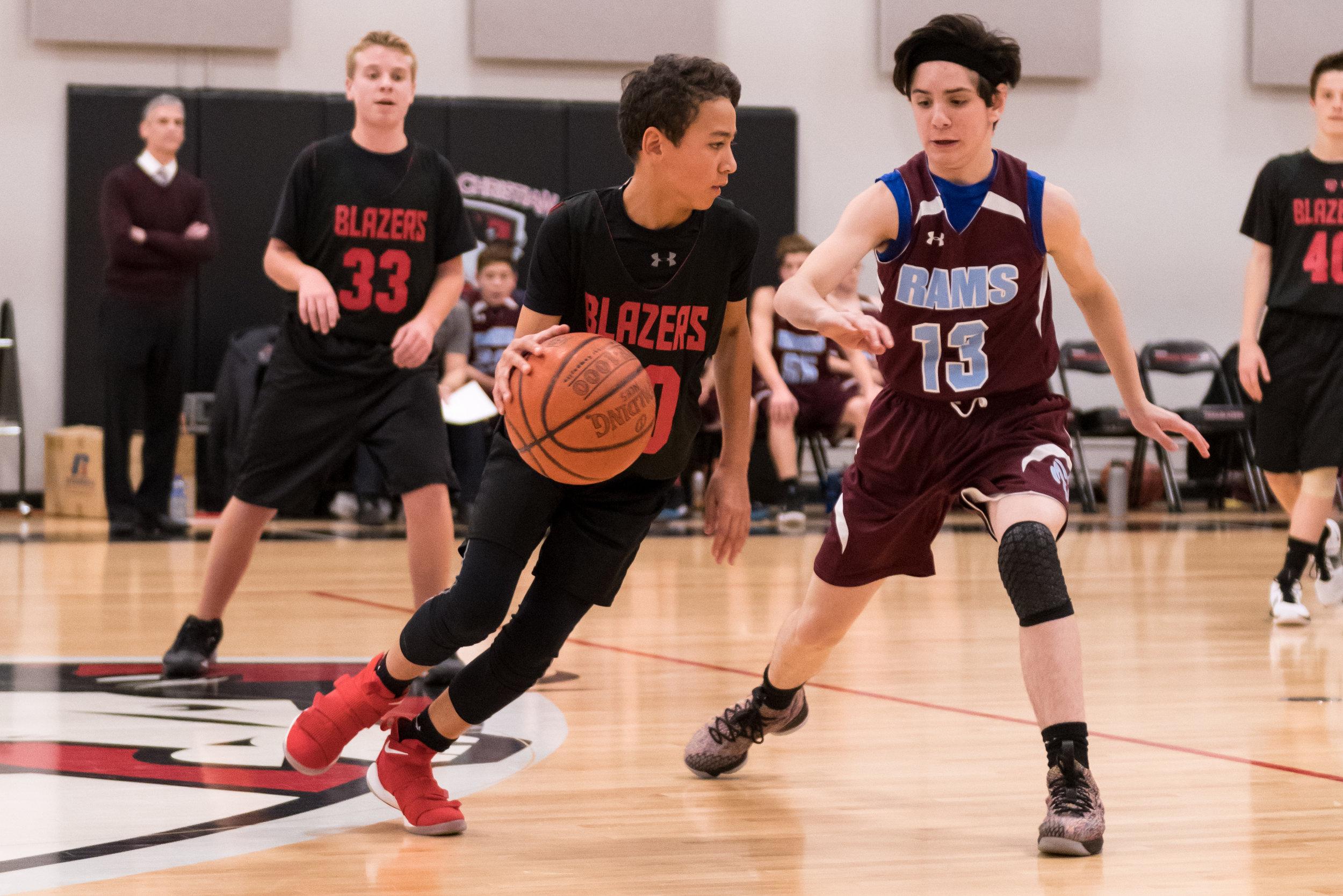 5th Grade - 8th Grade Boys Basketball