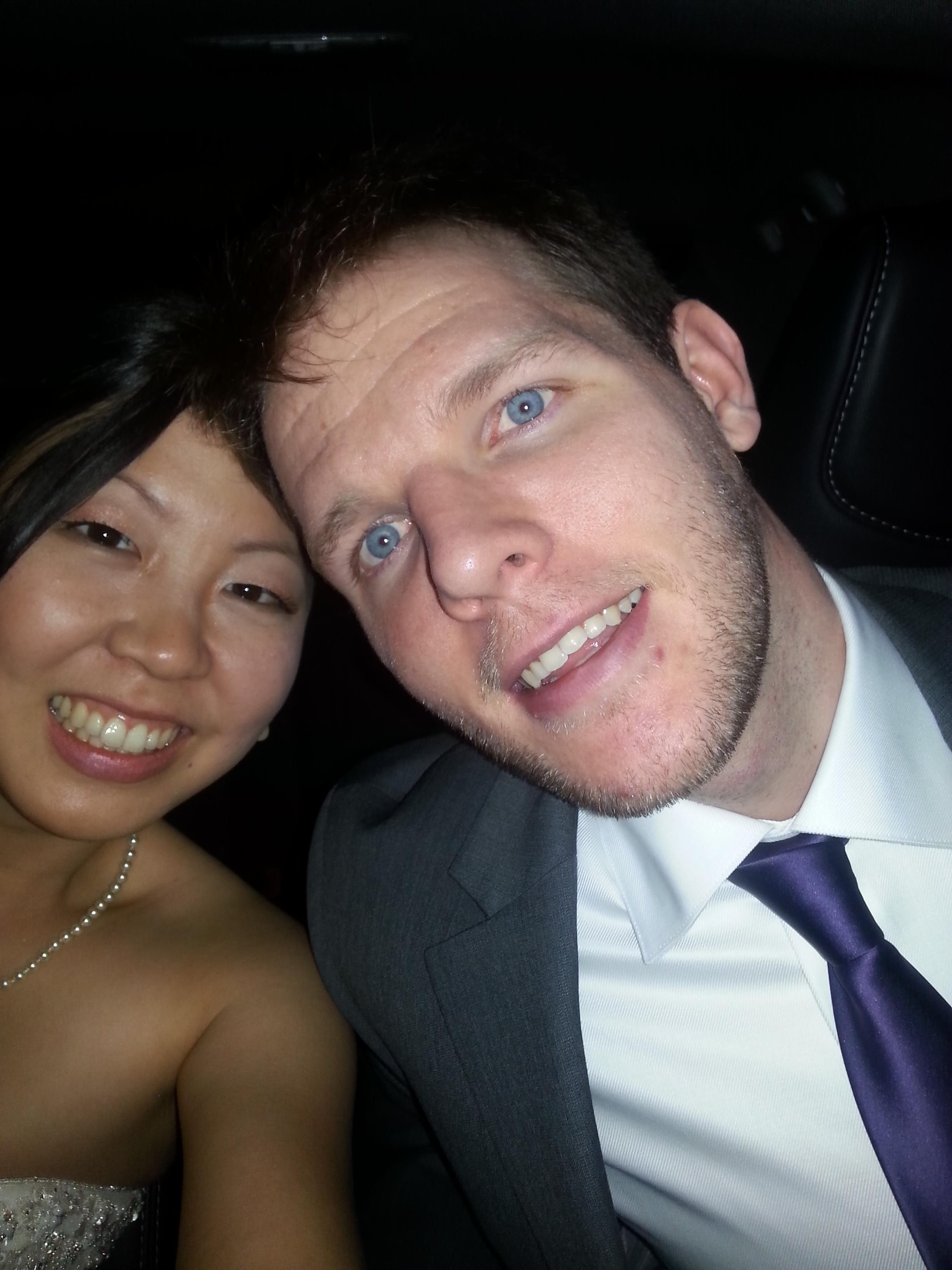 Post-wedding selfie!