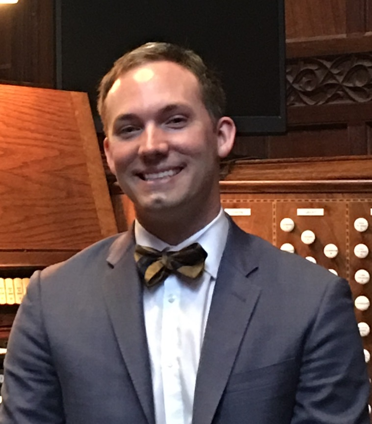 Charles Higgs,  Director of Music Ministries and Organist