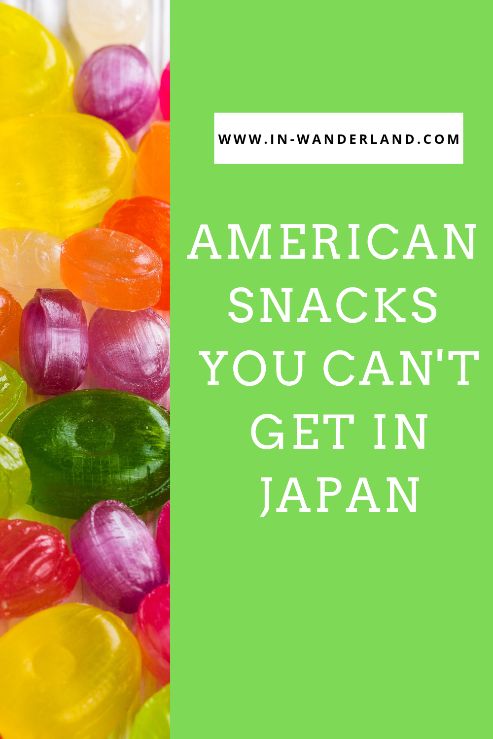 American Snacks You Can and Can't Get in Japan
