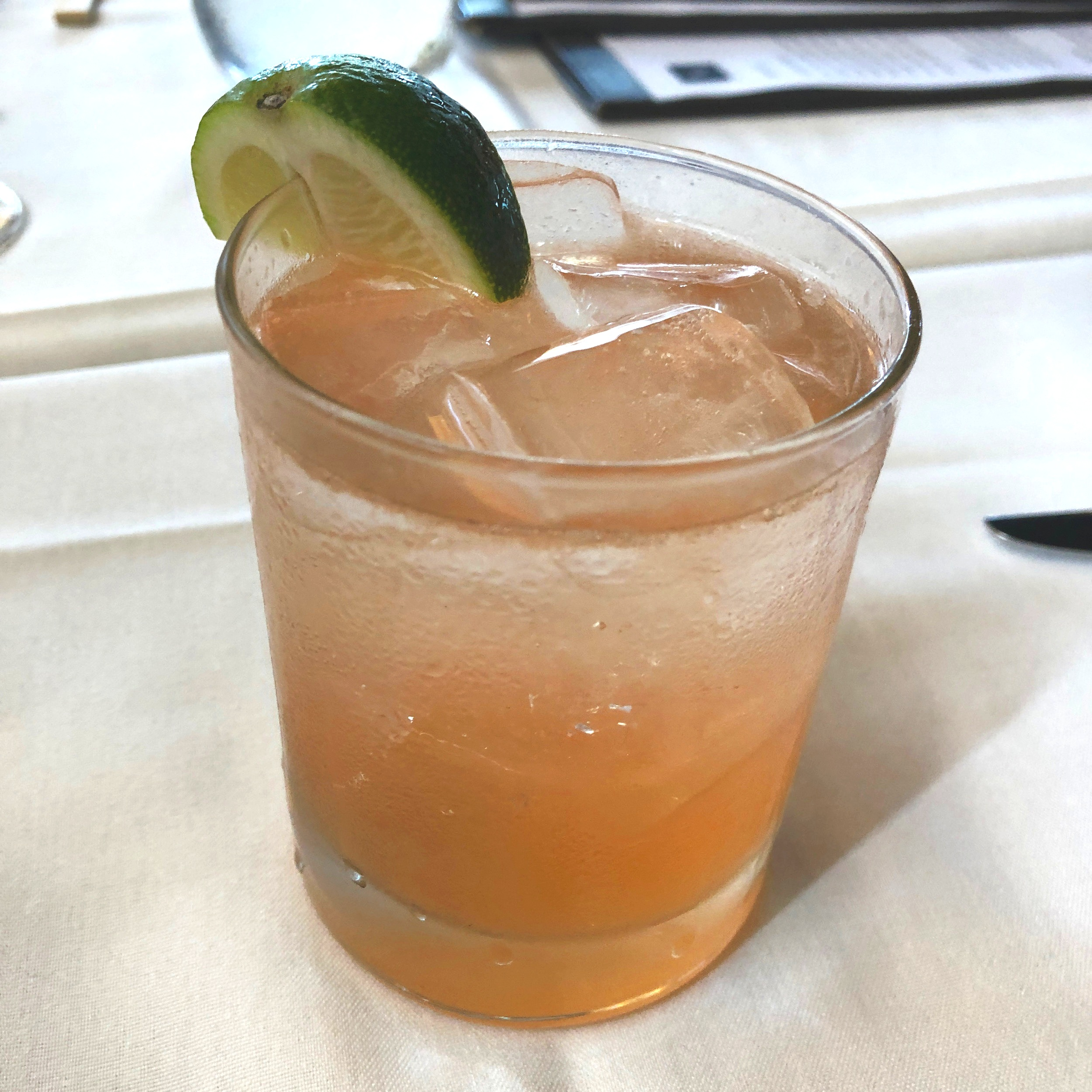 MW Restaurant's Hawaiian Gin-ger Fizz Cocktail