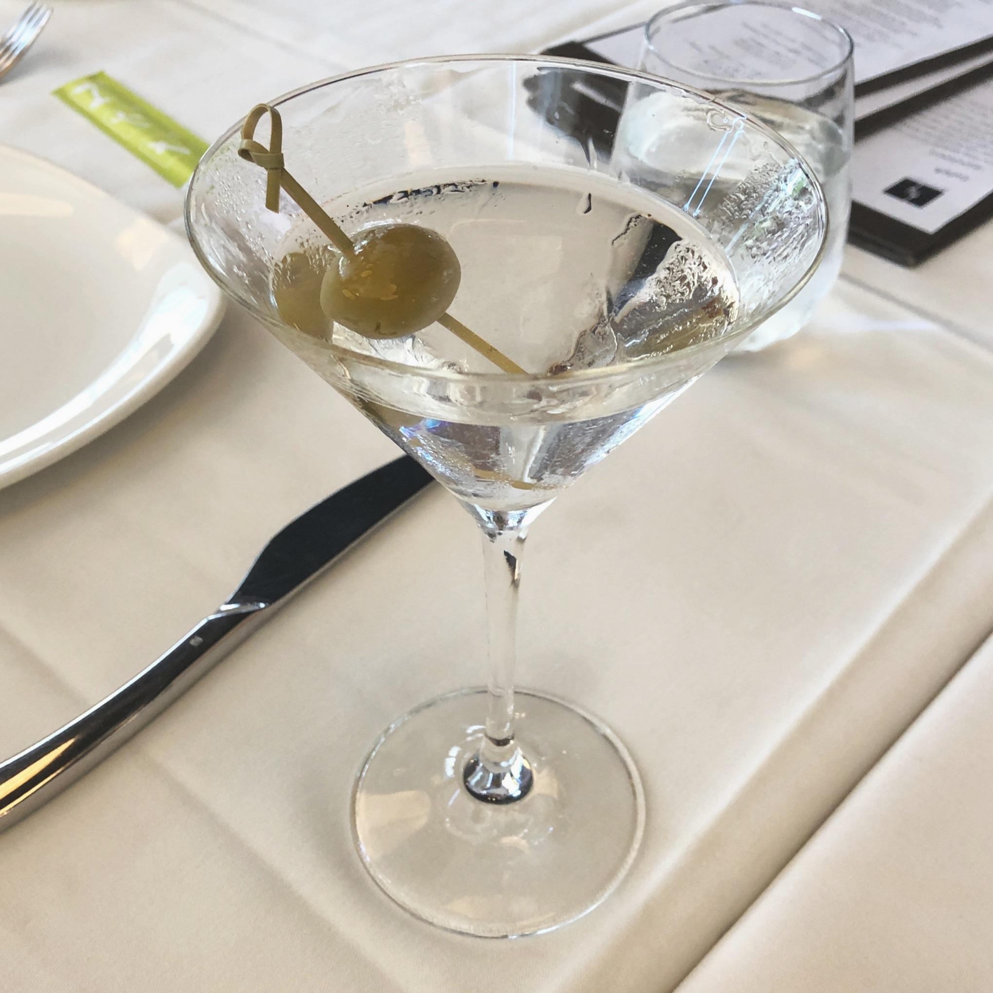 MW Restaurant's Russian Standard Vodka Martini