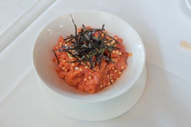MW Restaurant's Spicy Ahi Tartare