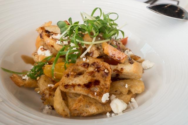 MW Restaurant's Panzanella Salad