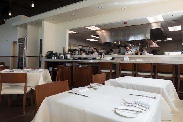 MW Restaurant Kitchen Area