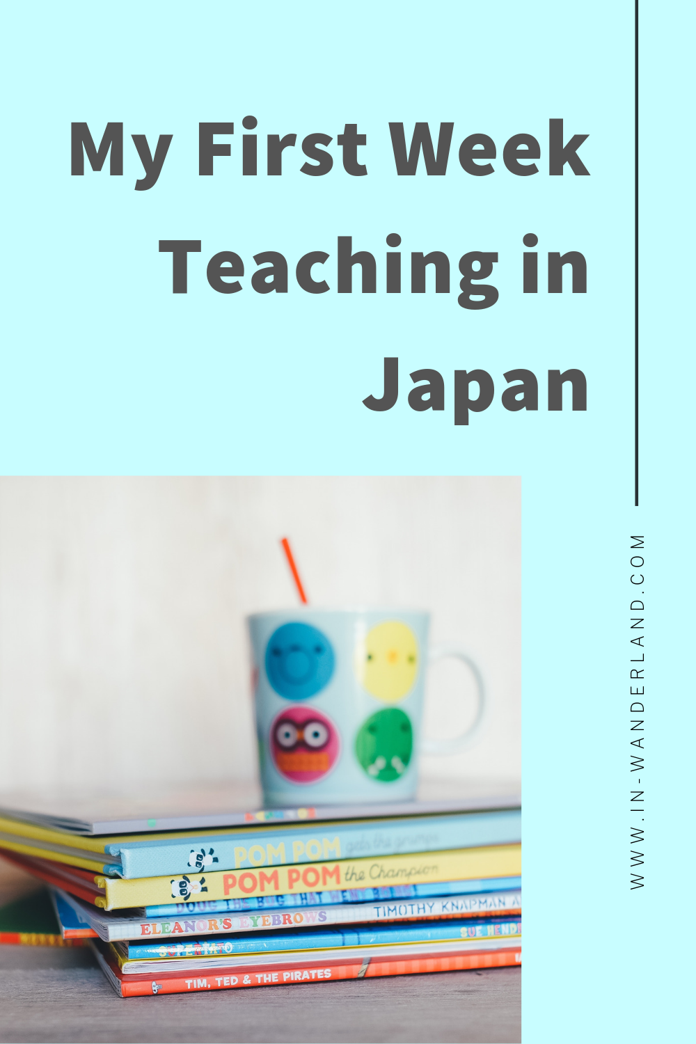 My First Week Teaching Junior High School English in Japan