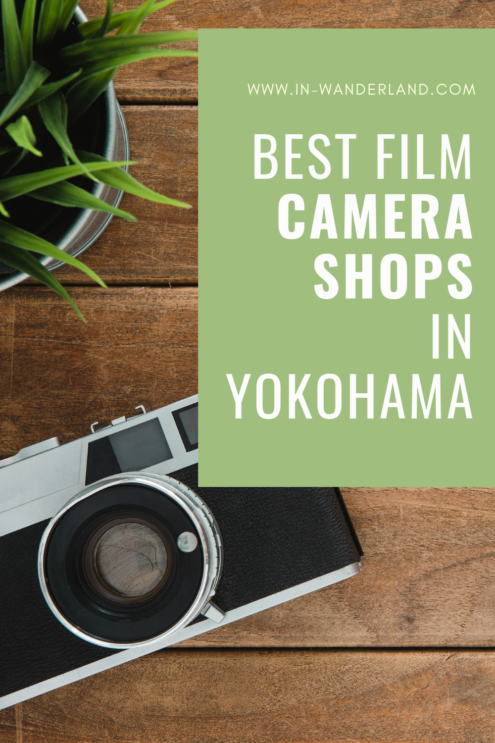 The Best Film Camera Stores in Yokohama, Japan