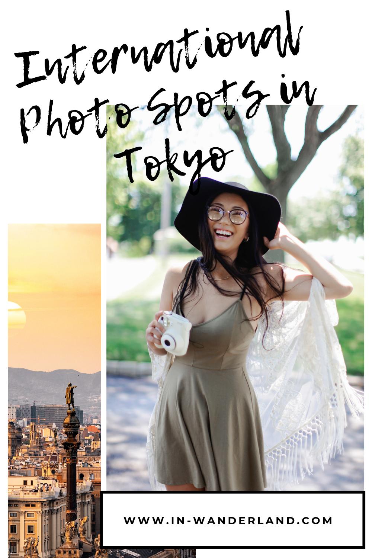 7 Great International Photo Spots in Tokyo