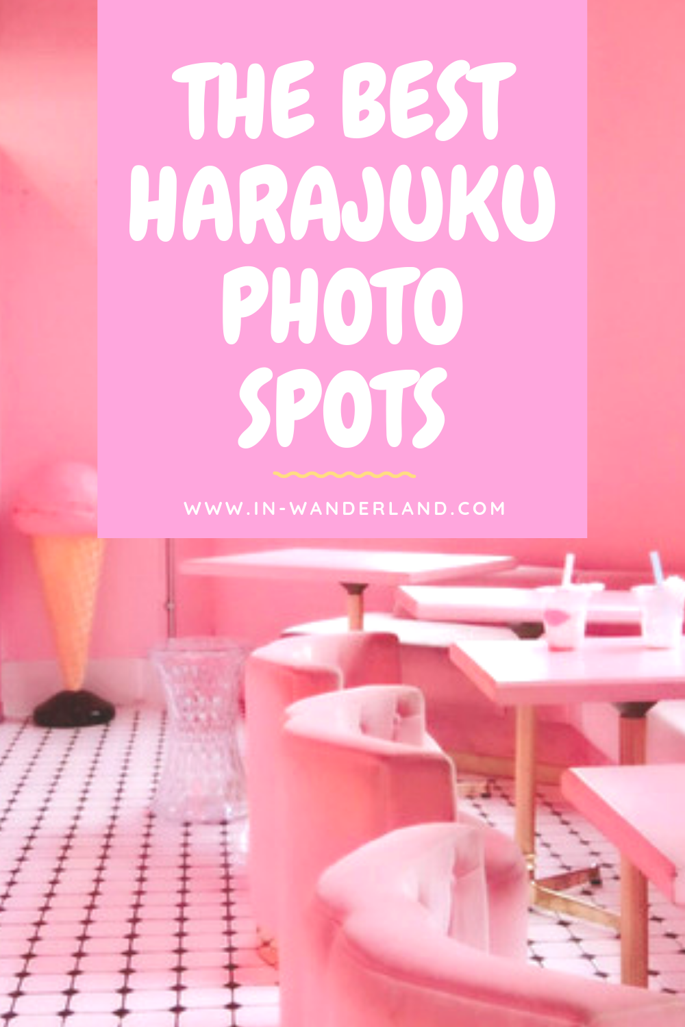 The Best Harajuku, Tokyo Instagrammable Photo Spots