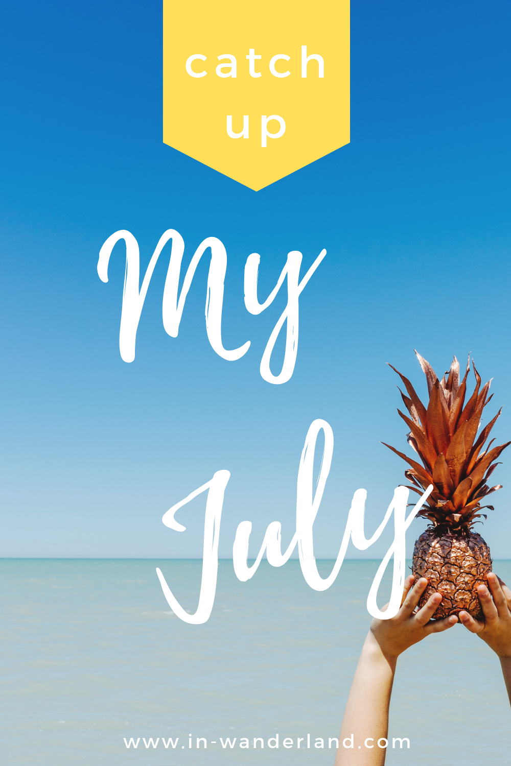 Monthly Catch Up: July 2019