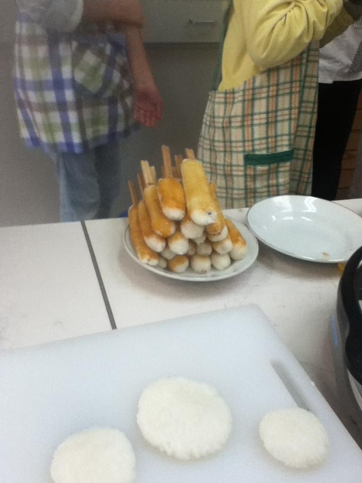 Kiritanpo: Akita's Specialty Dish - A Stack of Kiritanpo