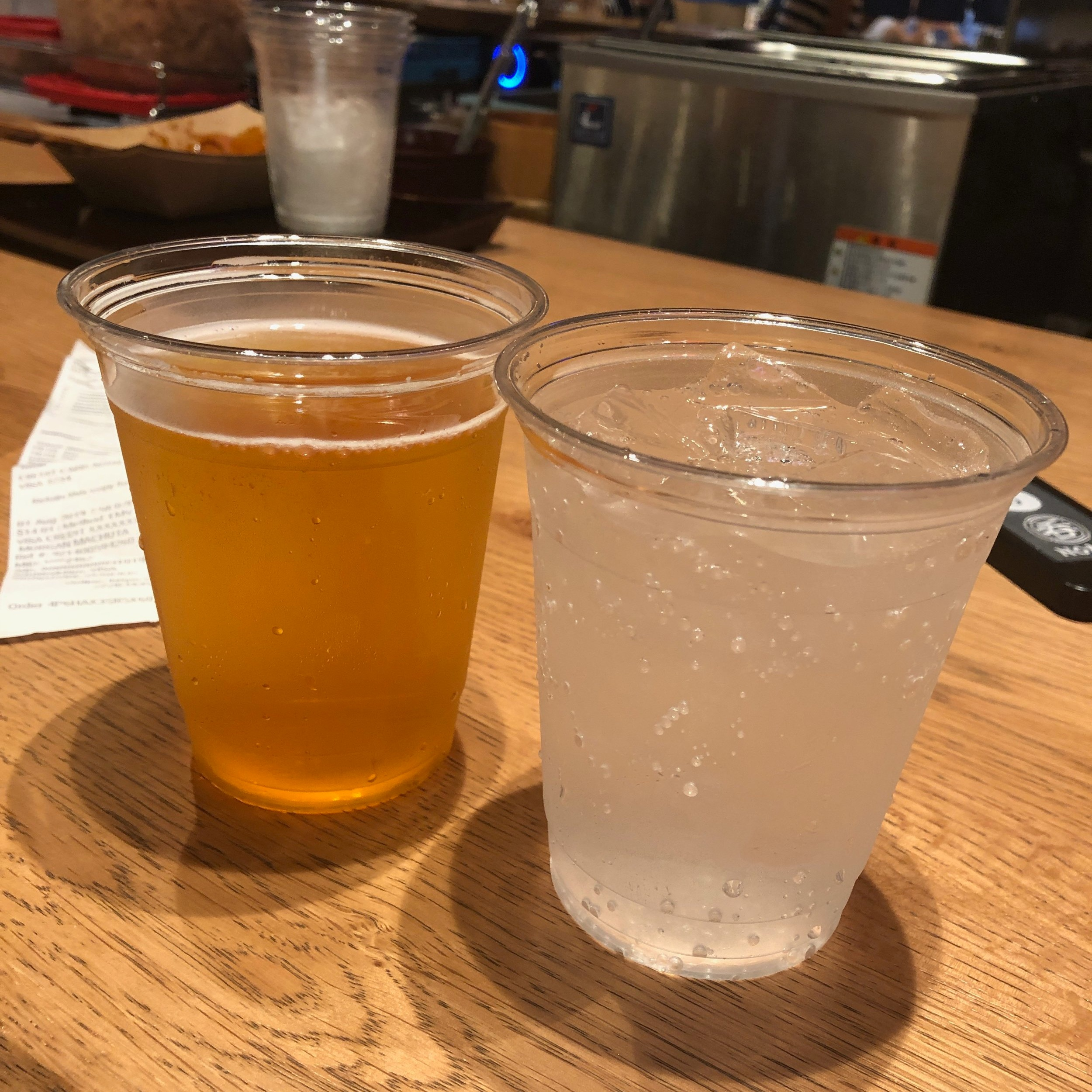 1 Cent Beers At Waikiki Yokocho: The Drinks
