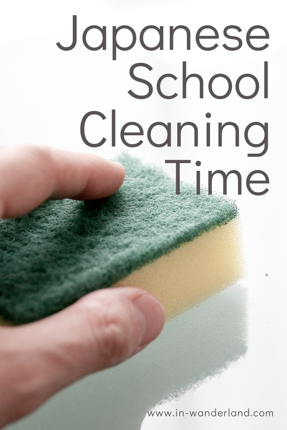 School Cleaning Time at Japanese Schools