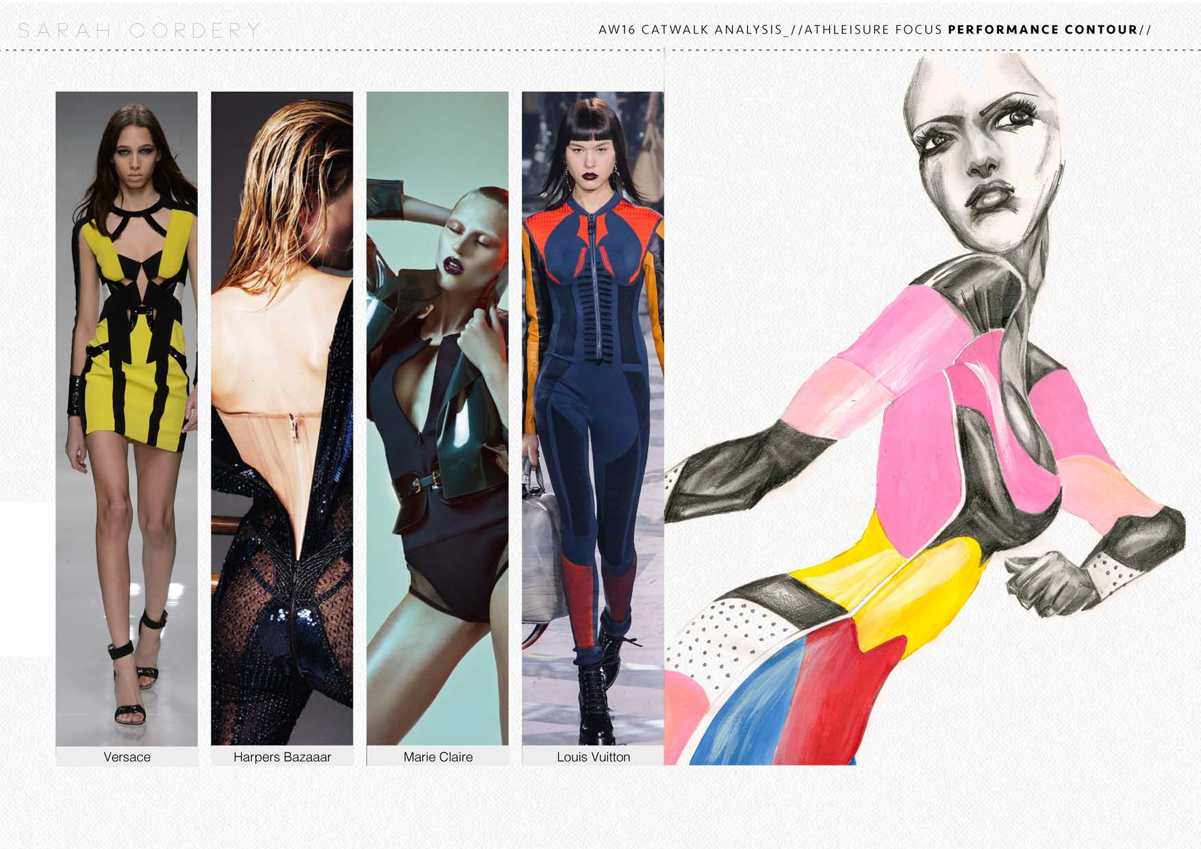 Activewear Portfolio Sarah Denise Studio Freelance Fashion Design