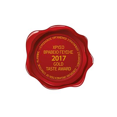 GOLD TASTE AWARD 2017 -
