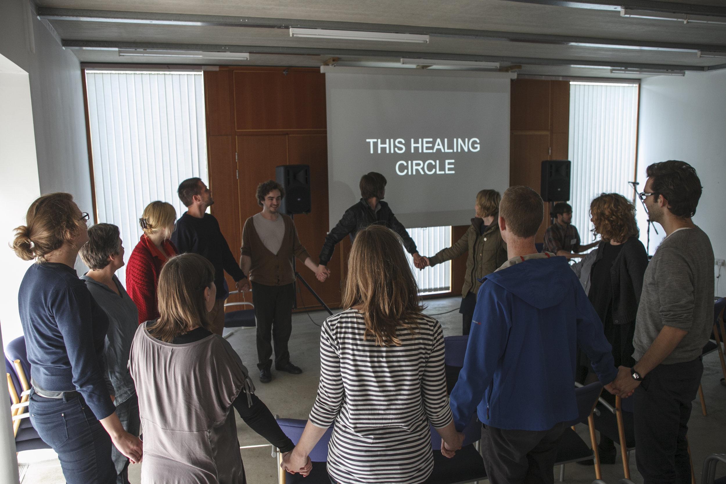 Restorative Non-Violent Healing Circle, 2012