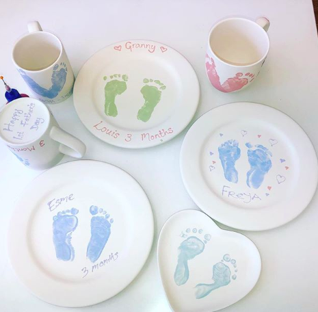Baby Footprints & Handprints
