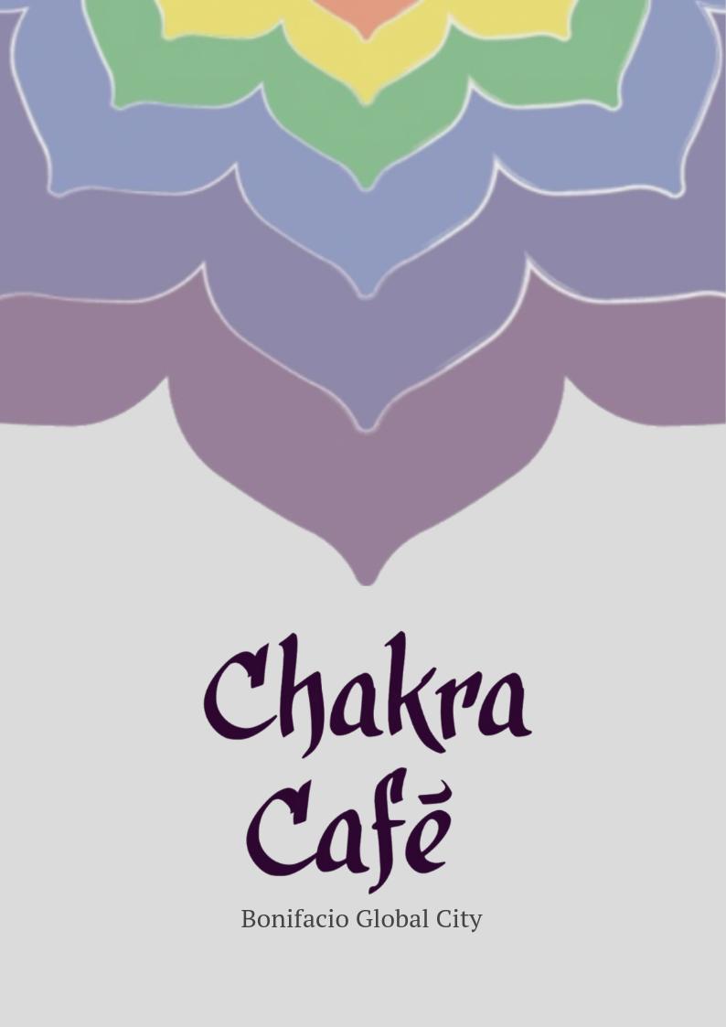 Chakra Cafe - Vegan and Vegetarian