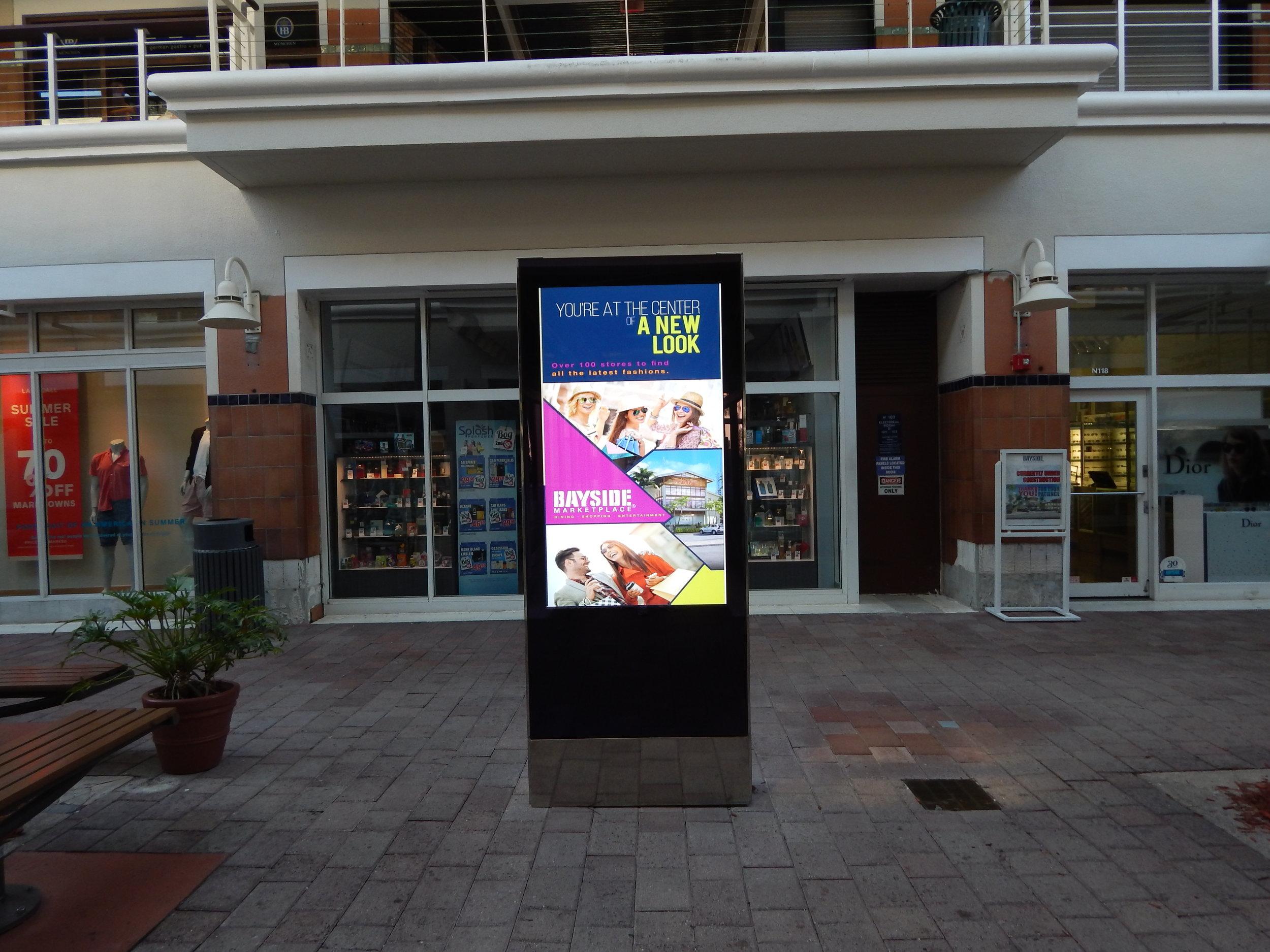 Hurricane-Resilient, Outdoor Smart City Kiosk for Miami Bayside – Miami, FL