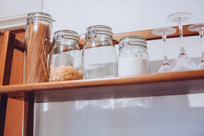 IKEA glass food storage