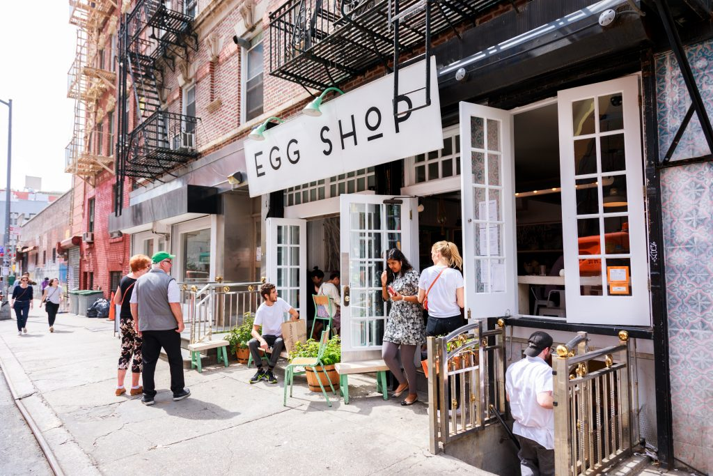 EGG SHOP DOWN TOWN NEW YORK