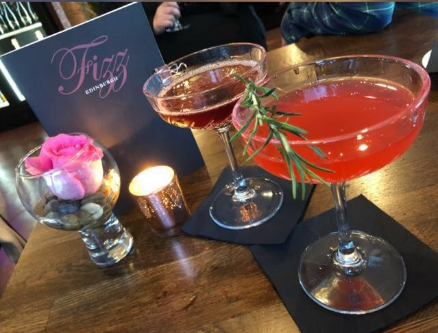 Fizz Champagne and Cocktail Bar sizzles in Edinburgh's west End - Read full article here