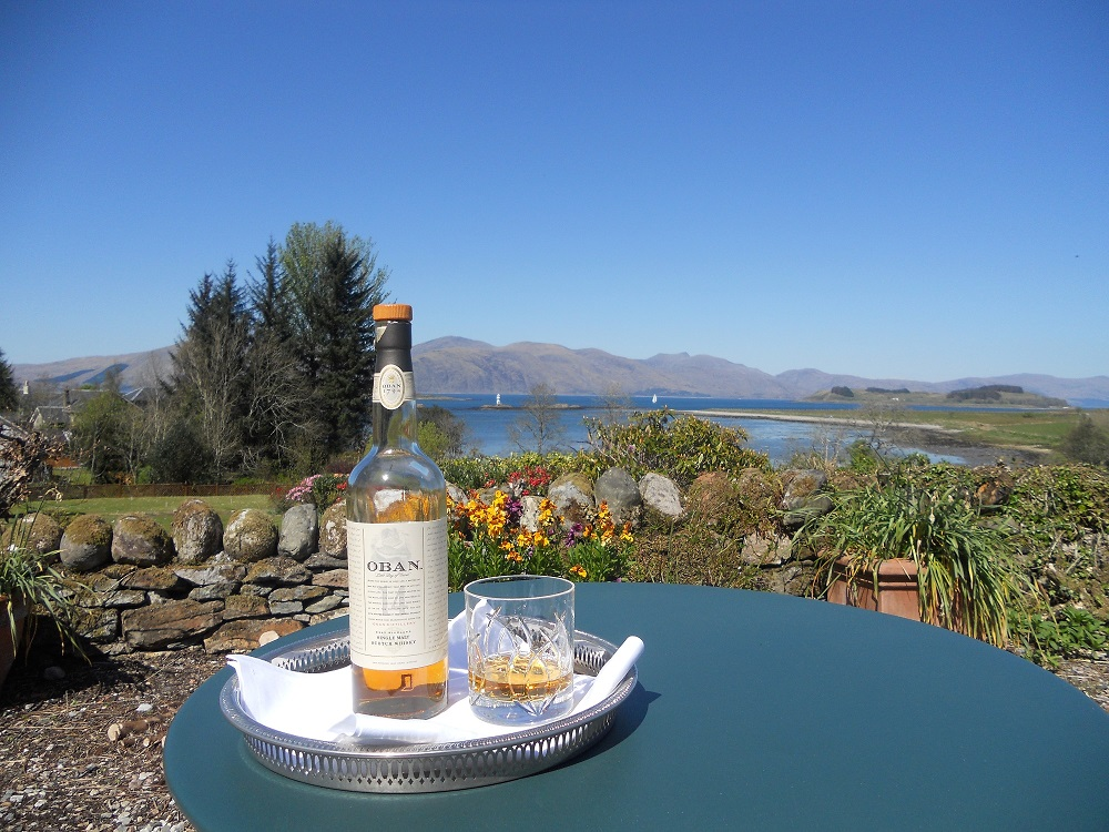 Airds Oban Whisky with loch linnhe view.jpg