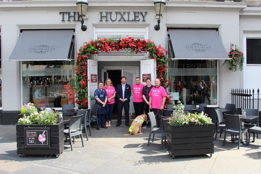Huxley introduces an audio menu for blind and partially sighted - Read full article here