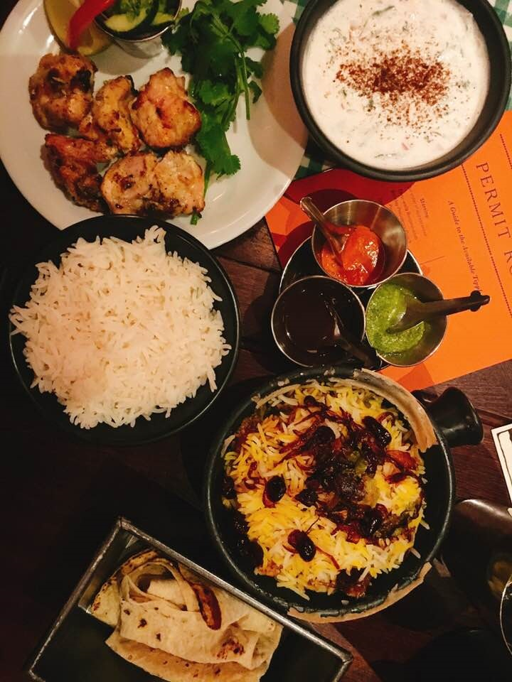 Dishoom - Bringing a little bit of Bombay to Edinburgh. They serve breakfast, lunch and dinner and cater for vegetarians, vegans, dairy and gluten freebies.www.dishoom.com/edinburgh