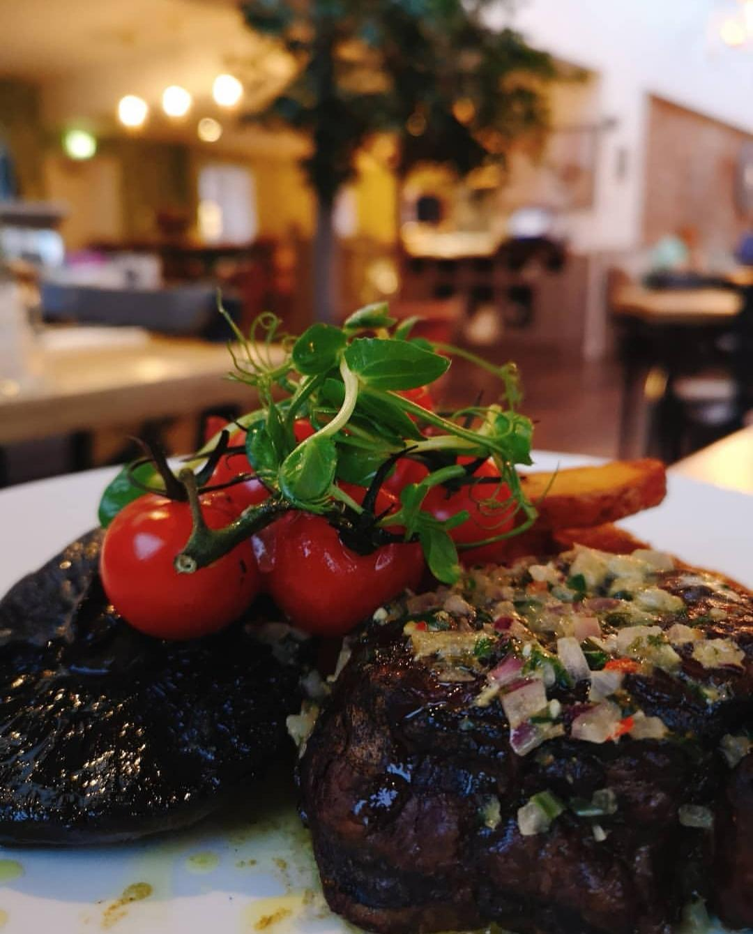 The Kitchen, Restoration Yard, Dalkeith Country Park - Their monthly steak nights are worth the 15 minute commute out of the city centre.www.restorationyard.comRead my review here