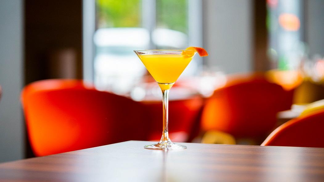 LADY MARMALADE MARTINI : Eden Mill Oak Gin, Lemon Juice, Orange Juice and Marmalade