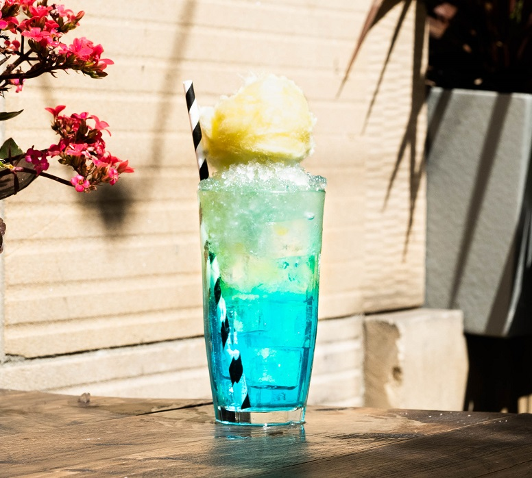 HUBBA BUBBA COOLA : Bombay Sapphire Gin and Hubba Bubba Cordial, topped with Watermelon & Cucumber Soda