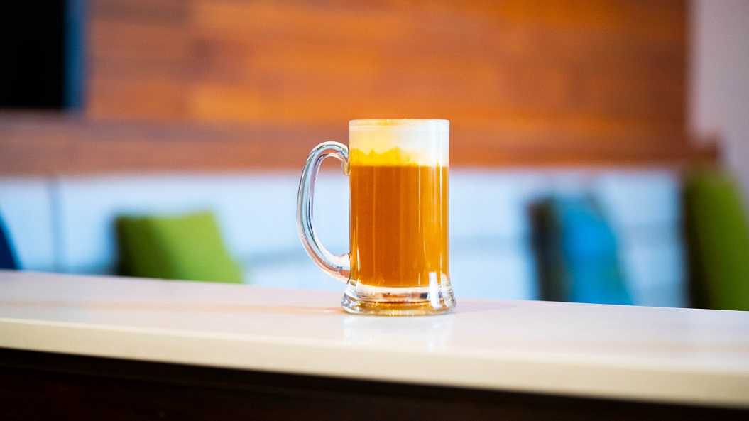 BUTTERBEER : Chivas Regal 12 Year Aged Whisky, Homemade Butterscotch Syrup, Cream and Nutmeg, topped with hot water