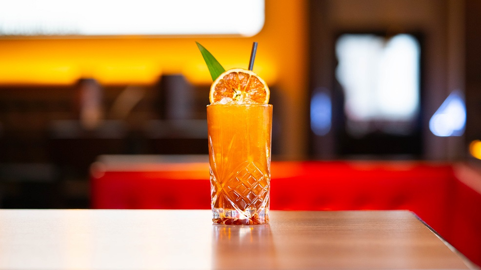 LEITH LIBRE : Leith Rum, Banana Liqueur, Pineapple Juice, Lime Juice and Demerara Syrup, topped with Coke