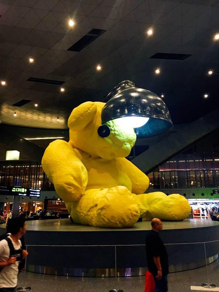 Doha yellow bear.jpg