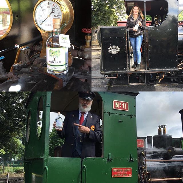 Having a wonderful time at the Whisky Festival @buzzrail 🚂🍸 #ginandtonic #steamtrains #alcohol #festival #ginbar