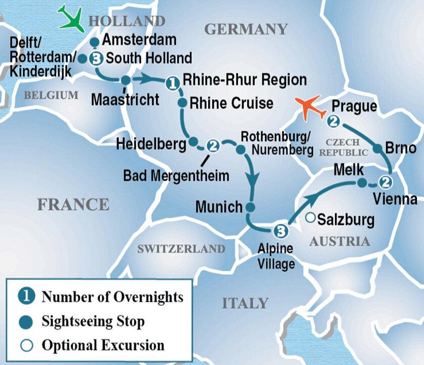 - 15 DAY HEART OF EUROPEW/ VIENNA & PRAGUE