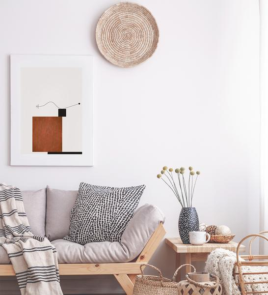 The      Balance poster      will create perfect harmony in your living room!