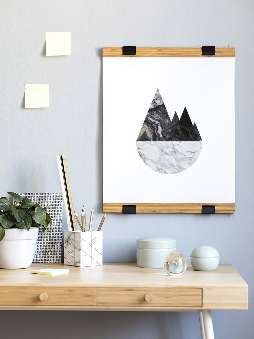 Shop our      Marble Mountains Poster      today!