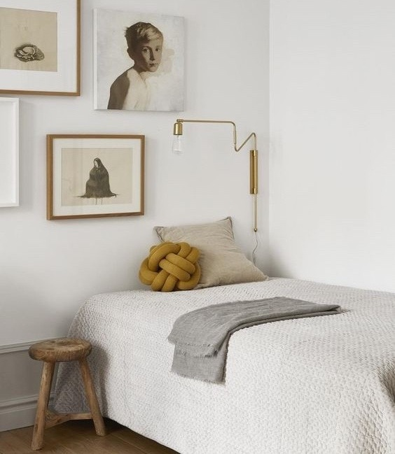 Rented+Apartment+article.+Image+of+bed+with+upcycled+stool+as+a+bedside+table.jpg