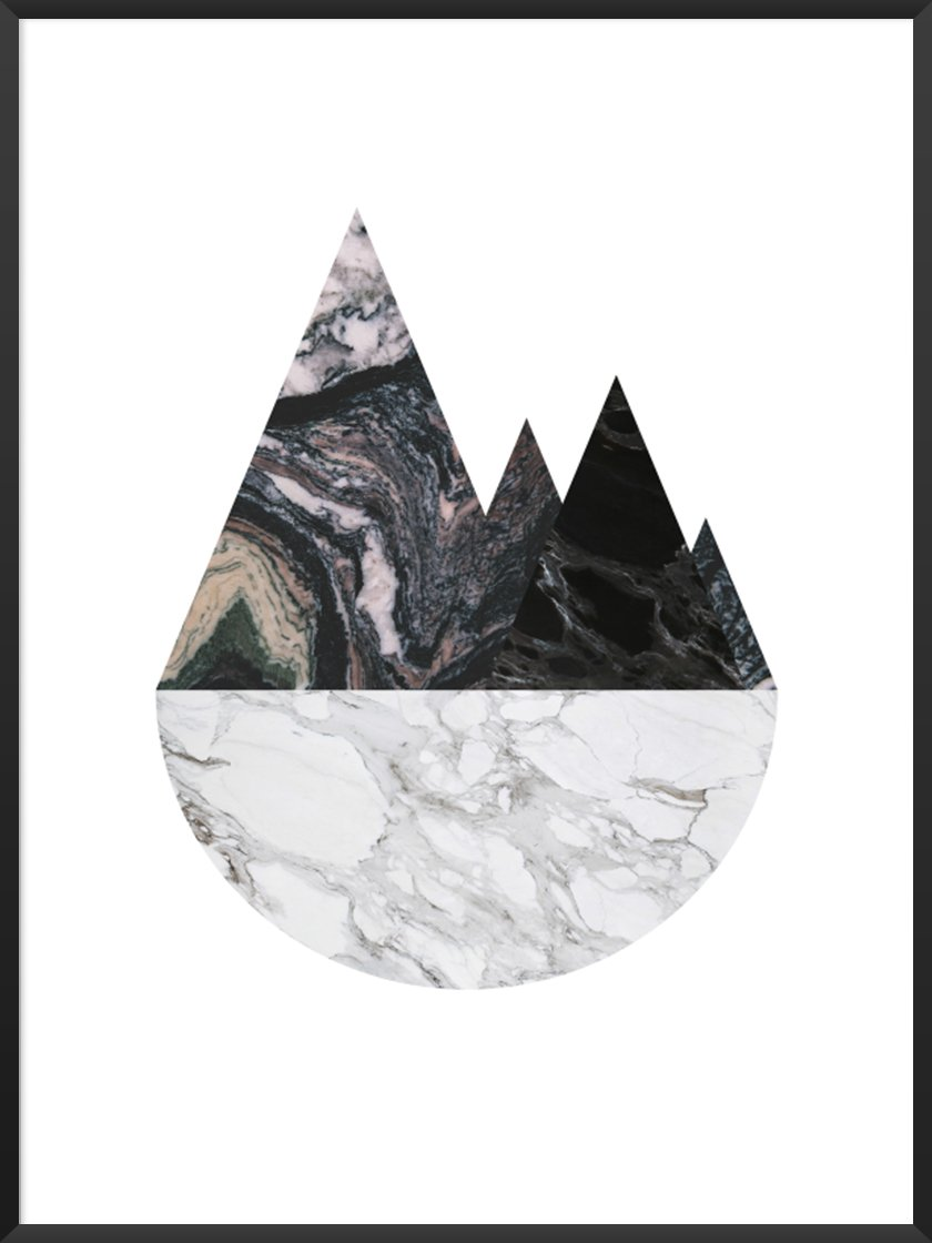 Our beautiful      Marble Mountains Poster     !