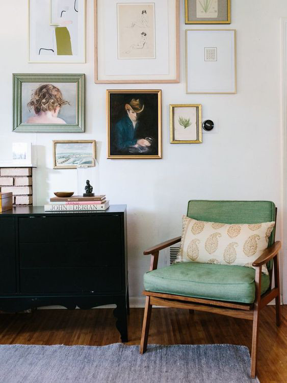 Cosy room article. Image of gallery wall with chair.jpg