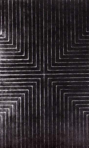 Frank Stella,  Die Fahne Hoch! , 1959
